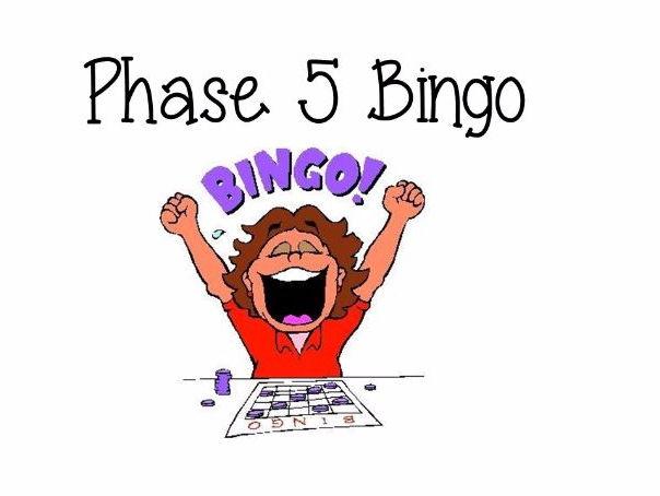 Phase 5 Bingo