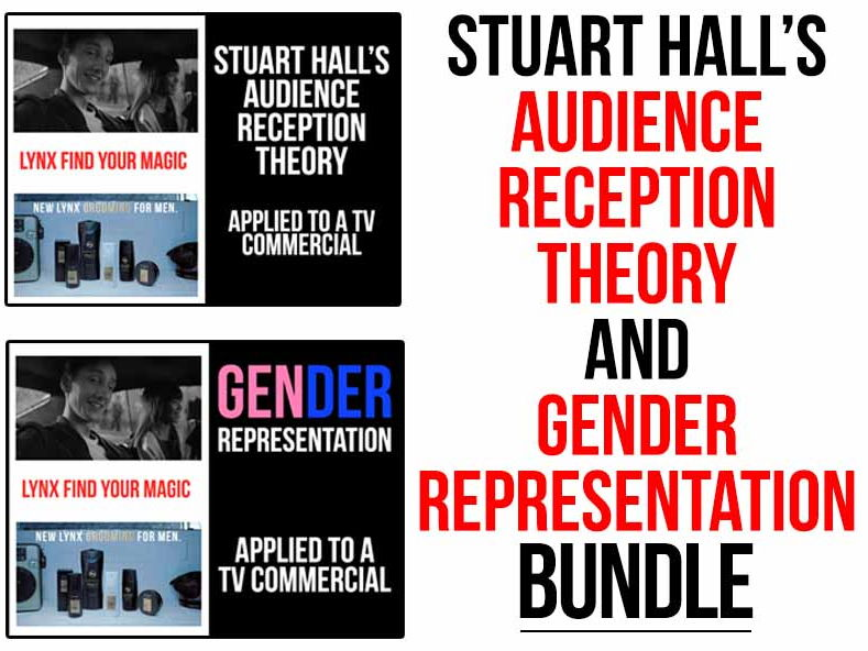 Audience Reception Theory and Gender Representation Bundle