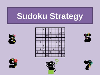 Sudoku Directions PowerPoint