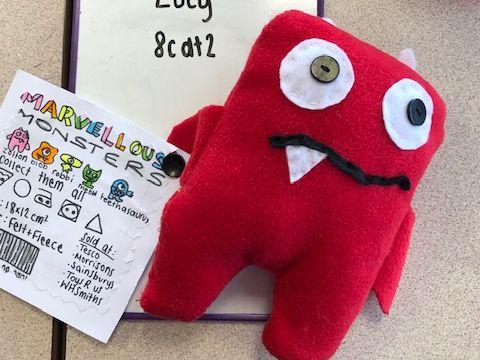 KS3 Design Technology Textiles - Creatures Soft Toy Project