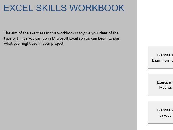Excel Skills Workbook