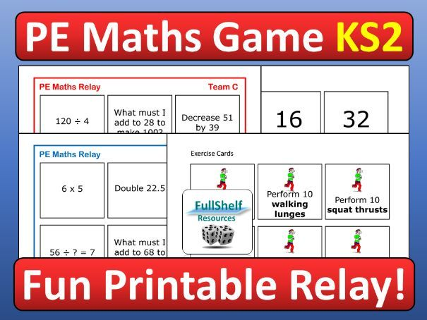 PE Maths Game