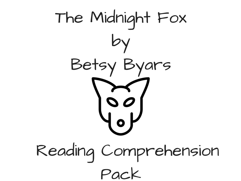 the midnight fox reading comprehension by rh tes com Midnight Fox Face Fox Midnight Fox Face Fox