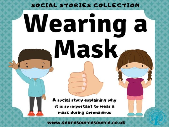 Wearing a Mask Social Story