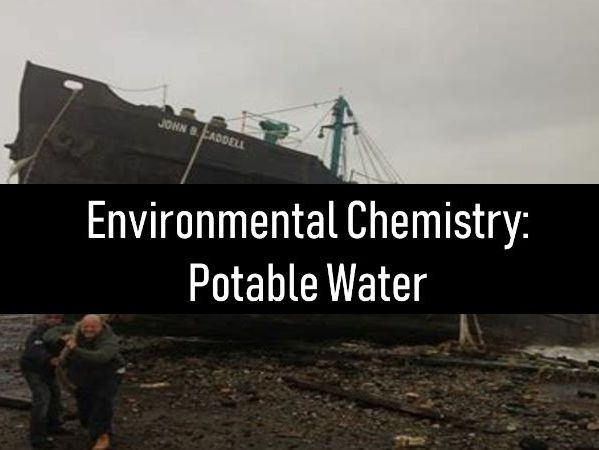 Potable water: Ship wrecked!