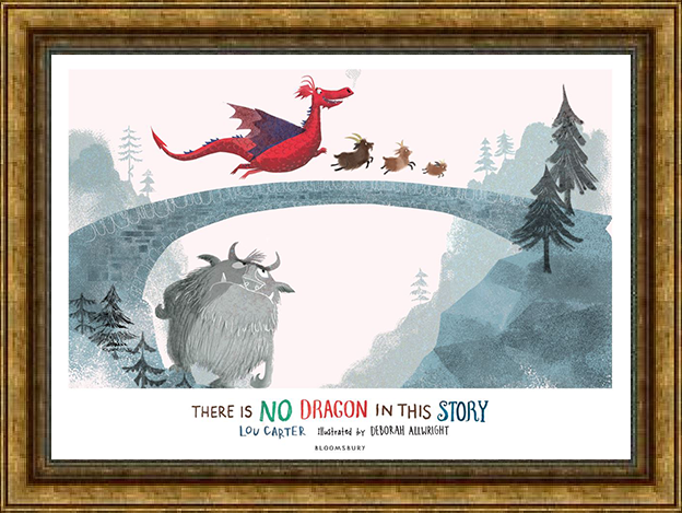 There Is No Dragon In This Story - storytelling resource pack