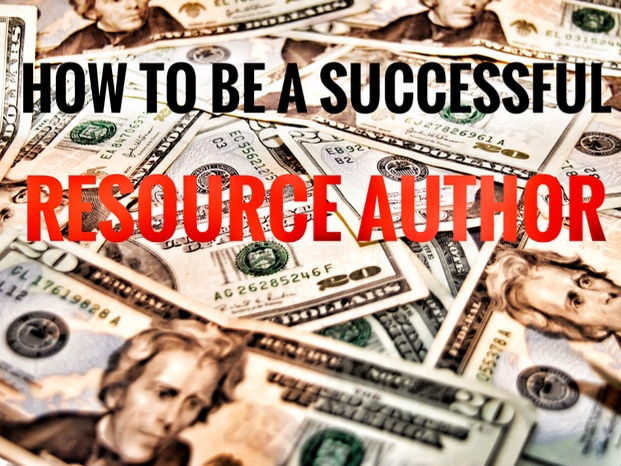 Resource for Authors. How to be a Successful Resource Author.