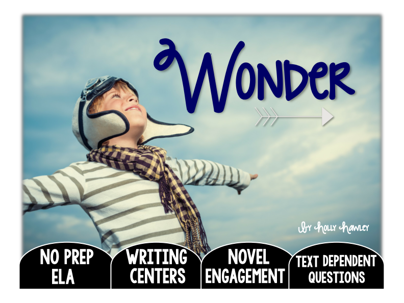 Wonder: Text Dependent Questions