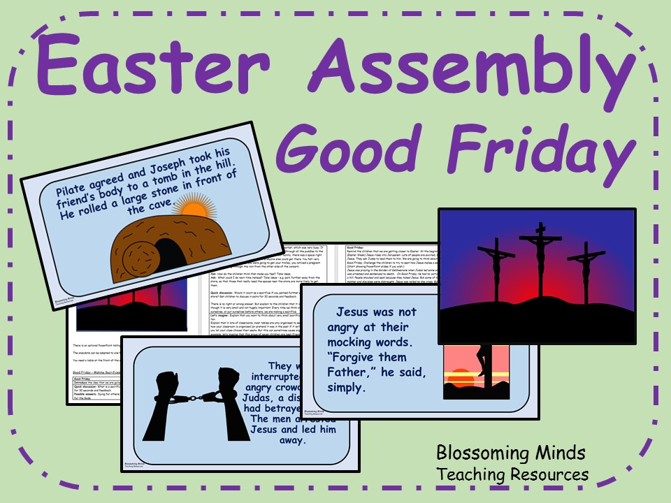 Easter Assembly - Good Friday - Making Sacrifices