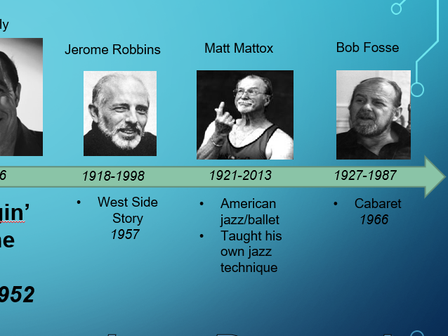 Jerome Robbins Stylistic features