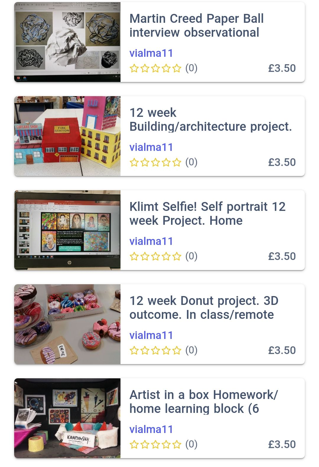 Secondary art teacher starter bundle. For interview, observations, year 7,8,9, homework block and more. Klimt Selfie, Donuts, Buildings, Paper balls, Artist in a box.