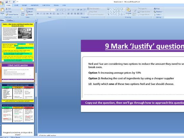 Edexcel GCSE Business 9-1 - 6 mark discuss and 9 mark justify