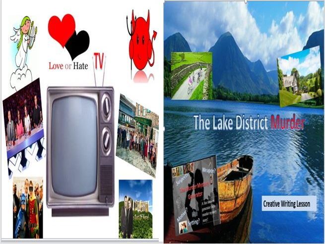 TV Love or Hate + The Lake District Murder Mystery Lesson with Starters