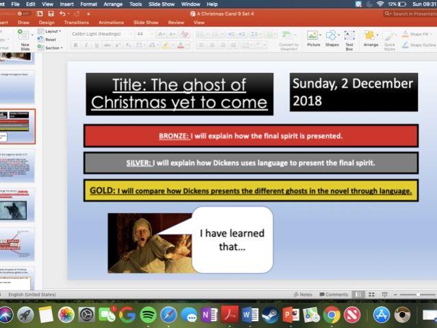 A Christmas Carol KS3