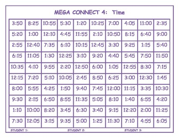 Time Mega Connect 4 game