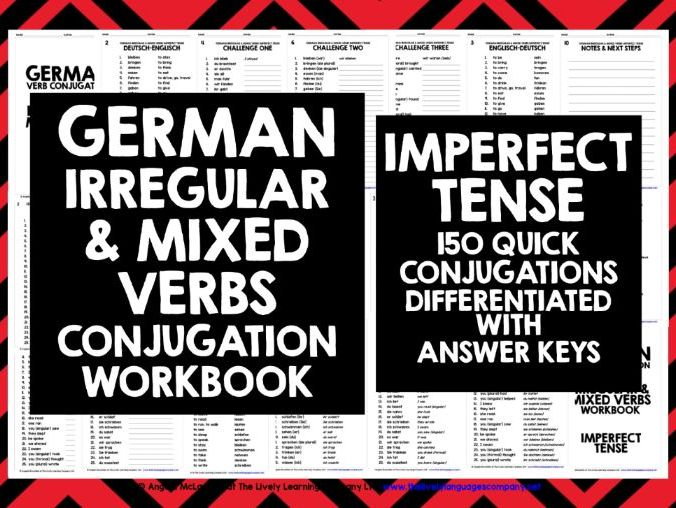 GERMAN IRREGULAR VERBS 3