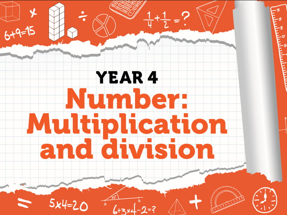 Year 4 - Multiplication and Division - spring week 3 - dividing 2-digits by 1-digit