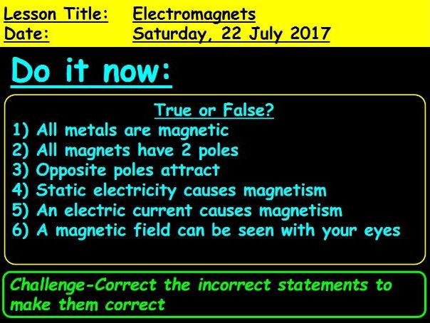 Electromagnets: GCSE 9-1 Physics