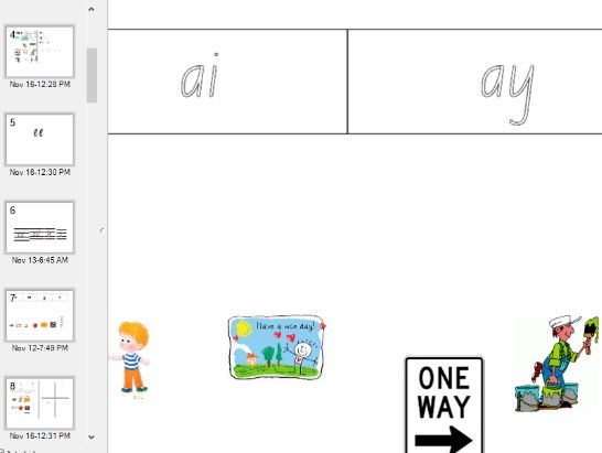 Phonics Notebook to support Set 4a and 4b  worksheets