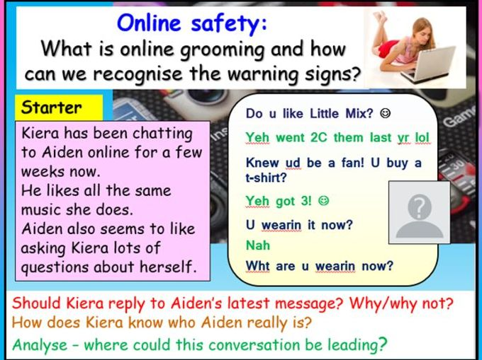Online Grooming - Online Safety