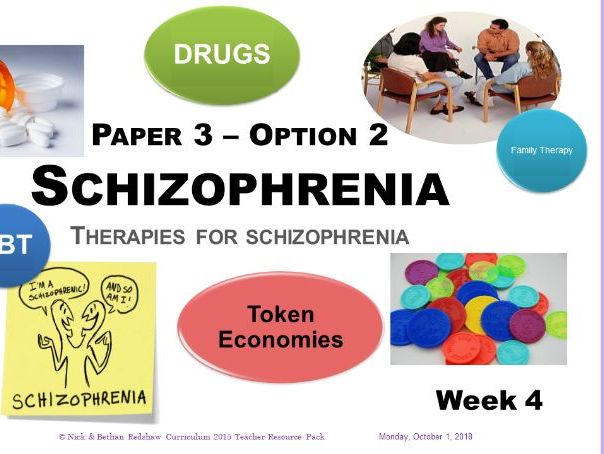 Powerpoint - Schizophrenia - Week 4  Therapies for Schizophrenia