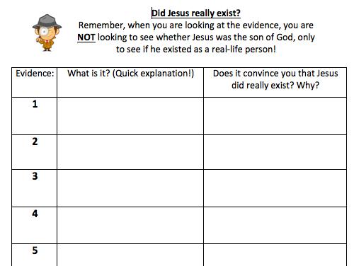 Existence of Jesus