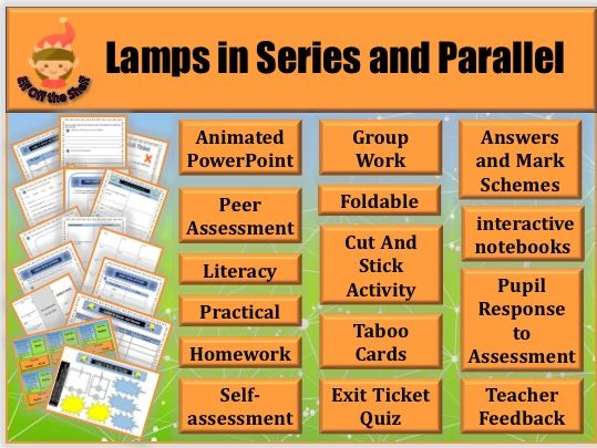 Electricity-Lamps in series and Parallel KS3