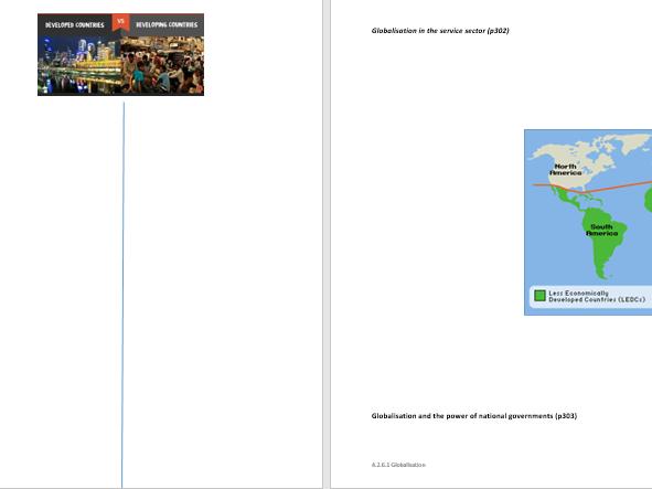 AQA A level Economics 4.2.6.1 Globalisation worksheet