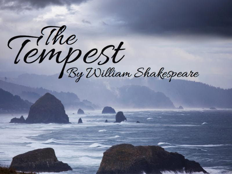 The Tempest- Act 1 Scene 1 Analysis