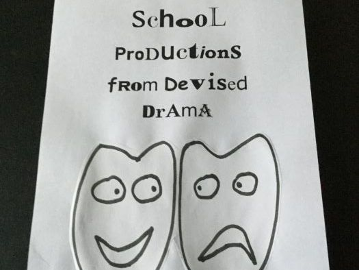 School Production from Devised Drama (4)
