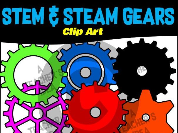 Gears Clip Art for Teachers