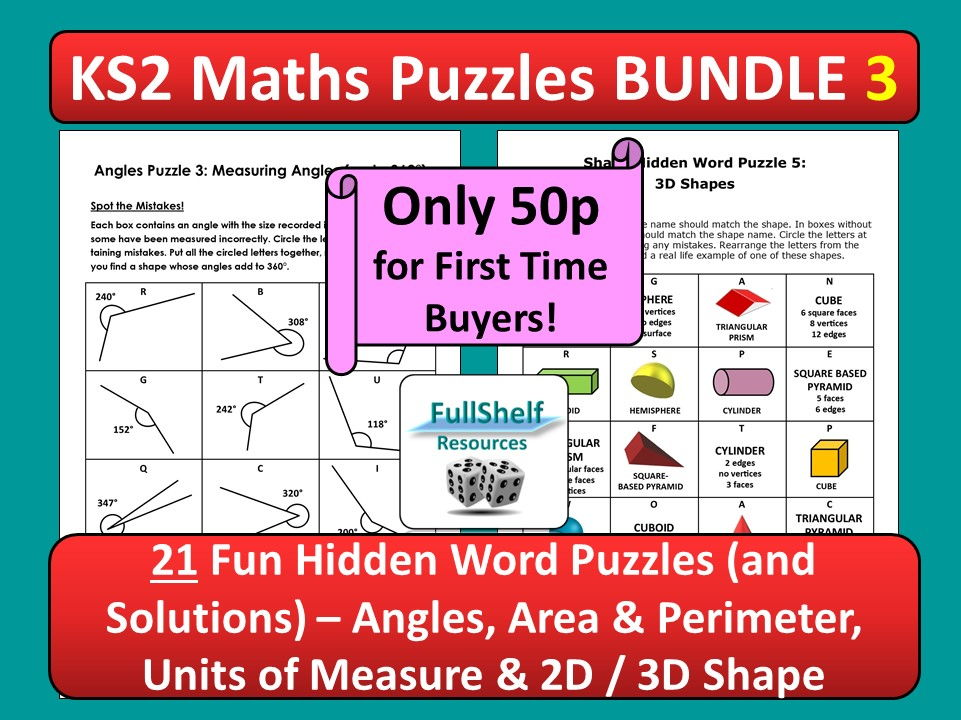 Maths Puzzles / Activities 3