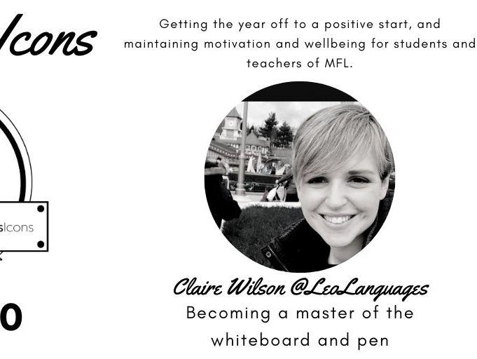 TM MFL Icons - Claire Wilson