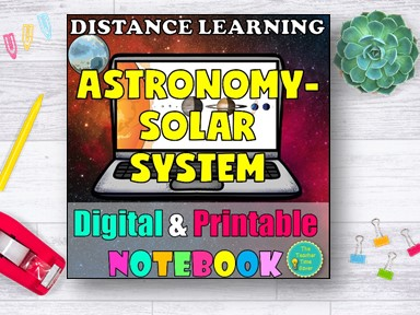 Solar System Space Distance Learning Curriculum
