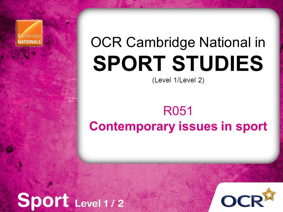 Cambridge National Sport Unit RO51 - LO2 Revision