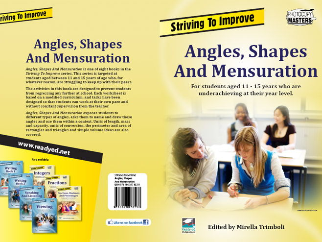 Striving to Improve Series: Angles, Shapes & Mensuration (Australian E-book)