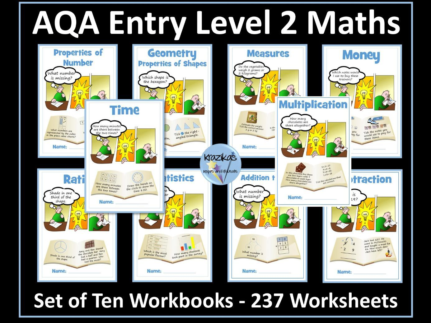 AQA Entry Level 2 Maths