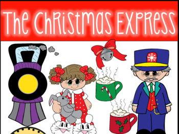 Christmas Express Clip Art