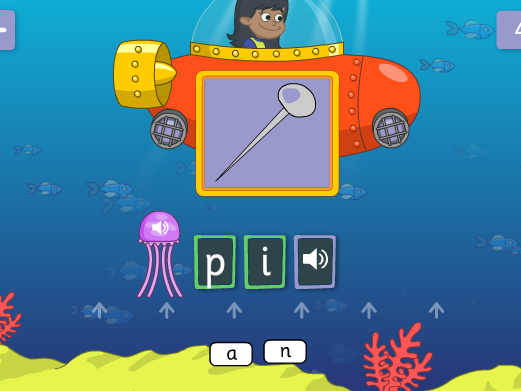 Phonics 1 - First Letters and Sounds