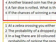 1-p Probability