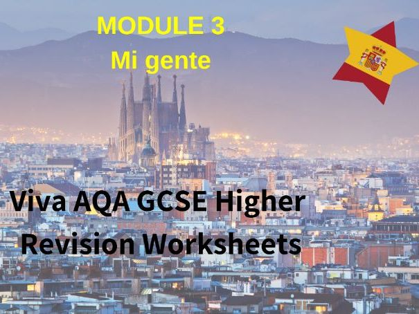 Spanish Viva GCSE (H) Module 3 Revision