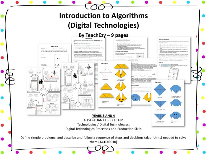 Introduction to Algorithms (Digital Technologies)