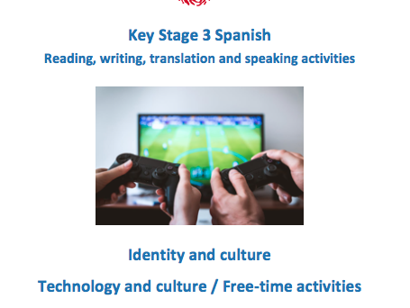 Spanish Key Stage 3 - Technology and Free time activities - New GCSE-style questions