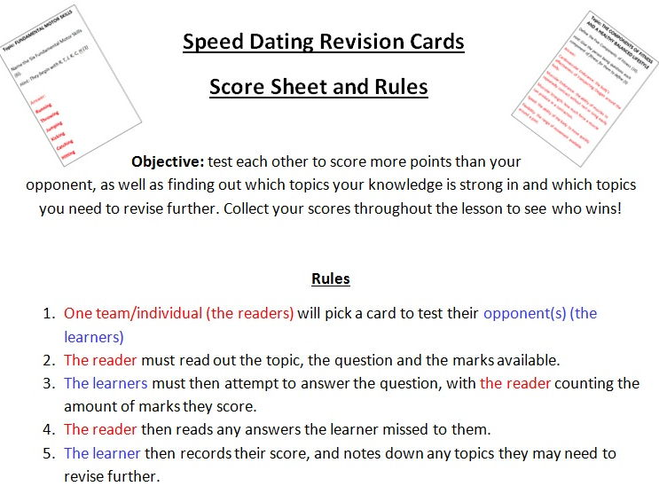 Hockey Peer Assessment Card By Crouse  Teaching Resources  Tes