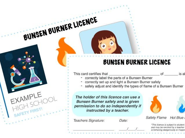 KS3 Science Skills Bunsen Burner Licences
