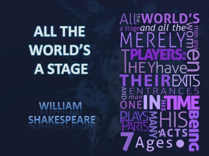 All The World's A Stage - One Off Shakespeare Lesson