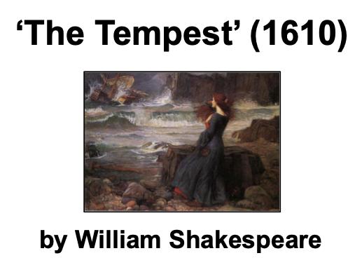The Tempest (Shakespeare) - KS3
