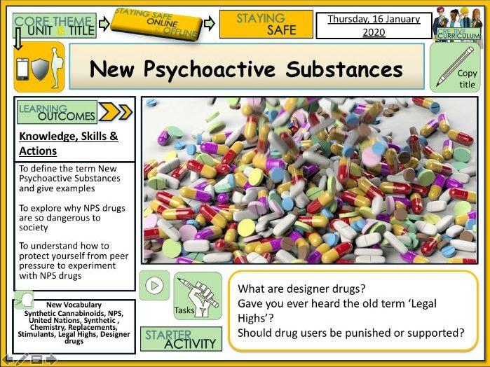 Drugs - NPS New Psychoactive Substances