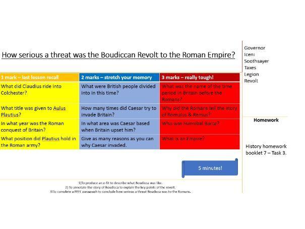 The Boudiccan Revolt