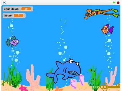 Scratch 2.0 Lesson 3 – Underwater Game
